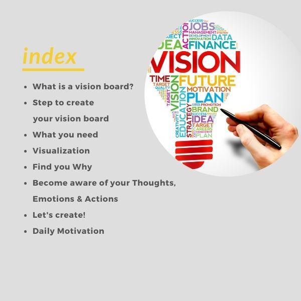 How to Vision Board E-book